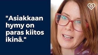 """""""Asiakkaan hymy on paras kiitos ikinä.""""⎪Työnantajaesittelyssä: Suomen Seniorihoiva⎪Duunitori"""