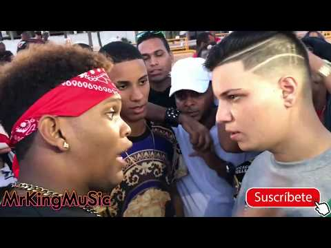 Enfrentamiento! Felpa Divo Vs Klasico KND - Batalla de FreeStyle en Guibia 2018
