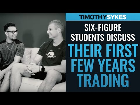 Six-Figure Students Discuss Their First Few Years Trading