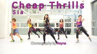 Sia - Cheap Thrills / Easy Dance Fitness Choreography / ZIN™ / Wook's Zumba® Story / Heyna