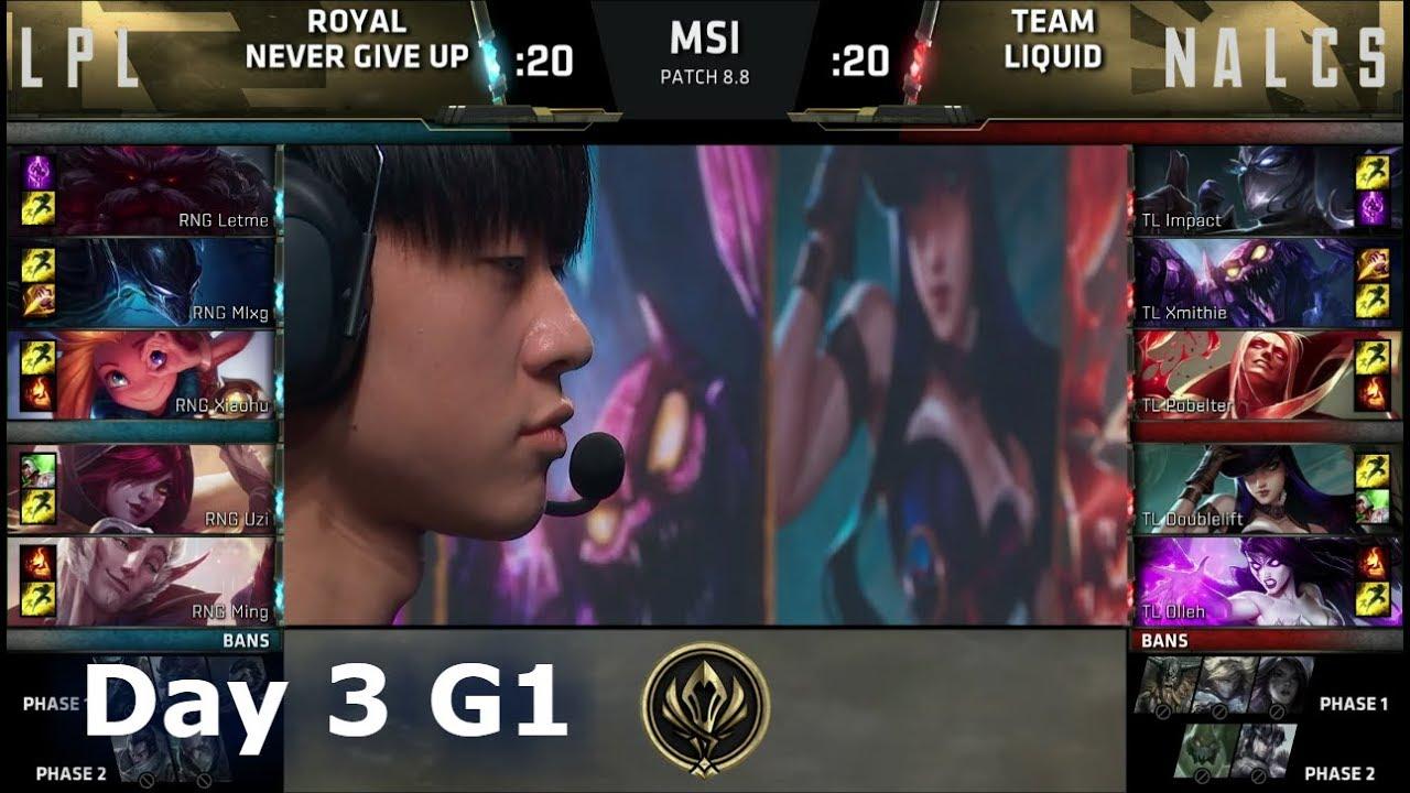 how to get msi team liquid