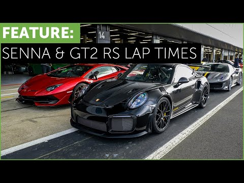 Ferrari Pista vs Porsche GT2 RS lap times! w/ Aventador SVJ vs McLaren Senna. Silverstone w/ Topaz