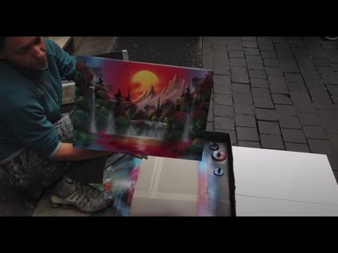 Awesome Italian Spray Paint - Street Artist - Paly - Rome ...