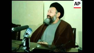 UPITN 2/2/80 GHOTBZADEH PRESS CONFERENCE ABOUT CANADA