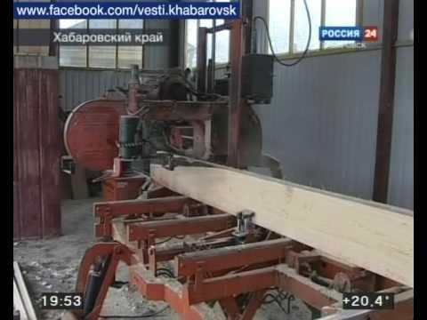 Вести-Хабаровск. Перспективы лесопереработки