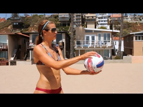 How To Overhand Serve | Volleyball Lessons