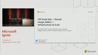 VM Scale Sets + Shared Image Gallery = Infrastructure at scale - BRK3339