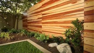 Wood Fence Designs & Collection