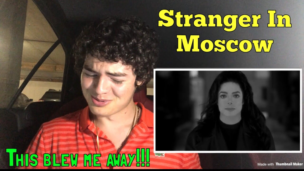 Michael Jackson - Stranger In Moscow (REACTION) ?