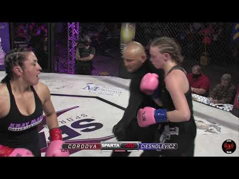 Sparta Wyoming 3 Shana Cordova vs Barb Ciesnolevicz Boxing