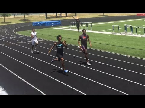 Erin Brown Runs 50.1 For Runner Up at the 2018 AAU SW District Meet