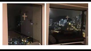 2018-09-15 颱風山竹來了!但林峯家的防風措施竟然做成這樣