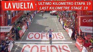 Last kilometer - Stage 19 - La Vuelta 2018