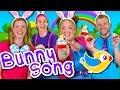 The Easter Bunny Bop  Kids Easter Song! Children's Music