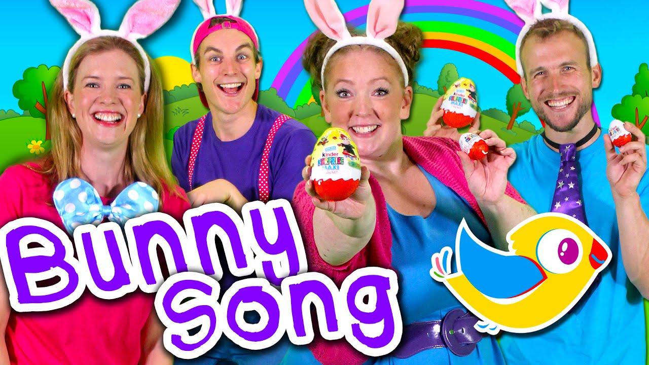 The Easter Bunny Bop - Kids Easter Song! Children's Music - YouTube