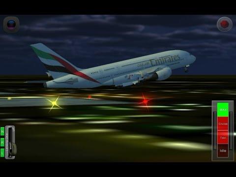 Flight-787 anadolu| GAMEPLAY  |HD |EMIRATES|NIGHT TAKE OFF|DUBAI TO KHARTOUM|