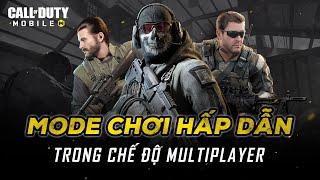 Những Mode chơi hấp dẫn trong chế độ MultiPlayer Của Call of Duty Mobile VN