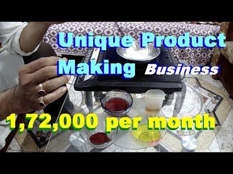 Unique product making idea. High demand business idea. Easy business idea.