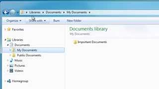 Basic Files and Folders Tutorial for Windows 7