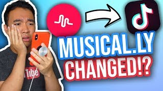 MUSICAL.LY IS NOW TIK TOK! UPDATE REVIEW *NEW*