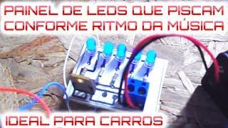 LUZ QUE PISCA CONFORME A MÚSICA (FEITO COM CAIXA DE LEITE) thumbnail