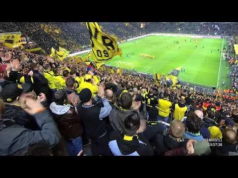 Borussia Dortmund vs Eintracht Frankfurt Südtribune party 3