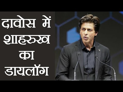 Shah Rukh Khan receives Annual Crystal Awards in Davos, Watch full speech | FilmiBeat
