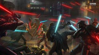 Jedi Academy Jedi vs Reborn battles