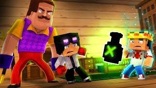 Minecraft: HELLO NEIGHBOR - O FENTOM TOMOU A POÇÃO DA IMORTALIDADE!! 😱😱 | EP 57
