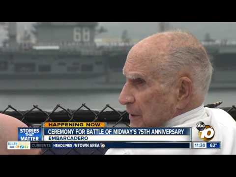 Ceremony held in San Diego for Battle of Midway