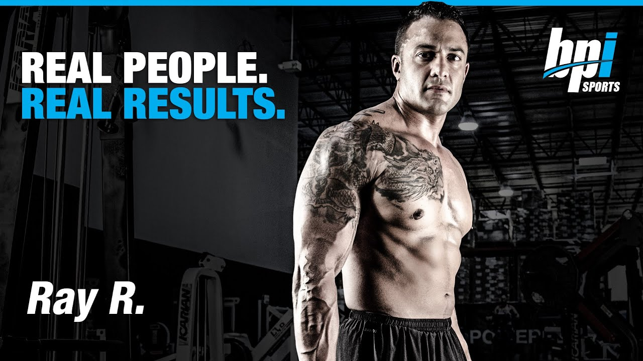 b244ef76467 Real People, Real Results with Ray - BPI Sports - YouTube