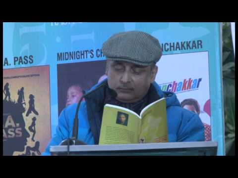 Chandigarh Literature Festival 2013 Mr. Piyush Mishra