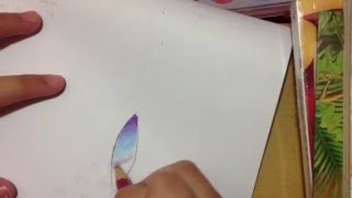 How to draw Galaxy-like Hair [ Color Pencil Tutorial ] - Re