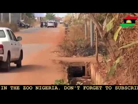 Guardian Angels Captured On Camera #UnknownGunMen Fighting For The Innocent Biafrans Killed Bypolice