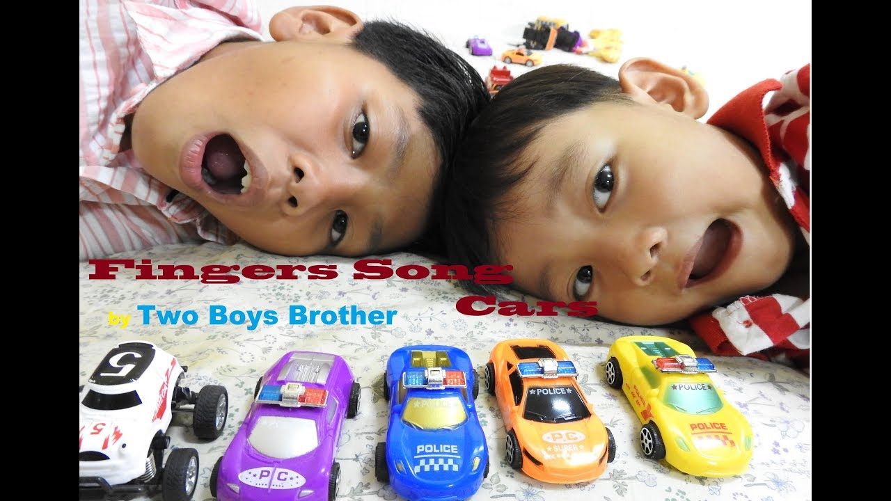 Go Go Goo || Finger Cars Song Very good Two Smart Boys with Cars Toy and Funny.