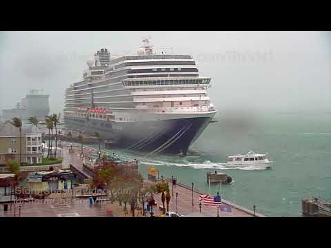 Key West, FL Stormy Cold Front - 12/9/2017