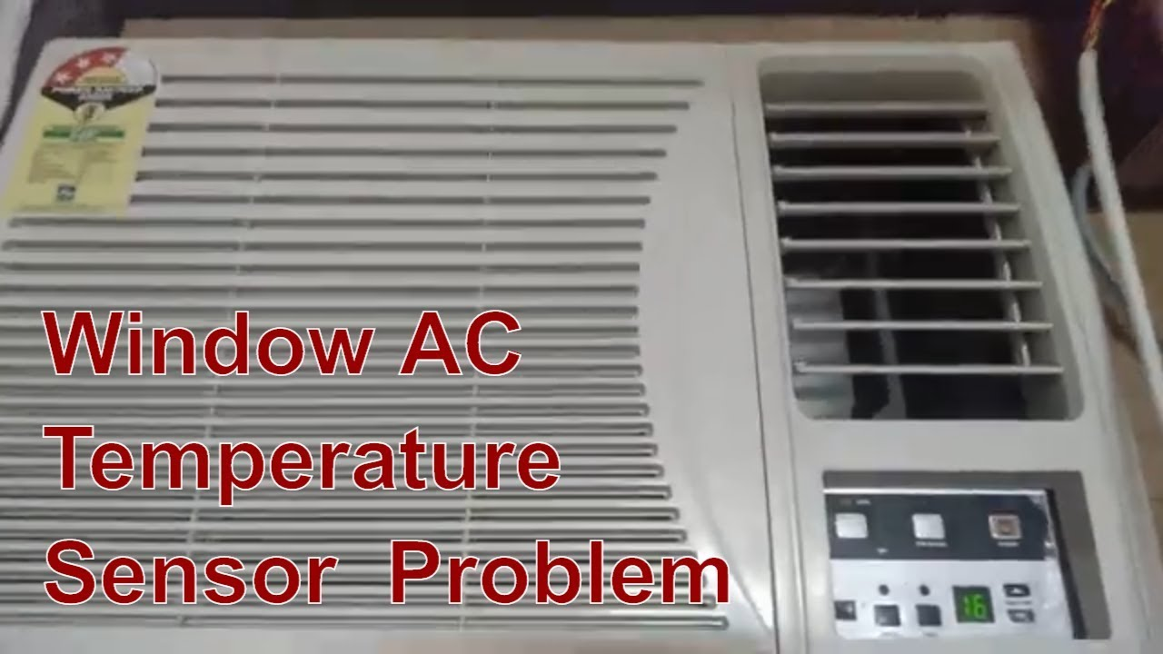 Repair Window Air Conditioner Front Temperature Sensors Indoor Coil Room Sensor Youtube