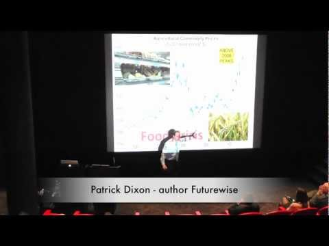 Future food crisis: consumers, retail, farms, energy industry, biofuels - Futurist trends keynote