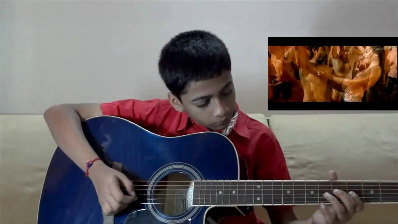 Ik Junoon Paint It Red Guitar Instrumental Zindagi Na Milegi