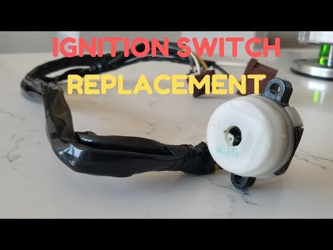 How to Replace IGNITION SWITCH | Honda Acura 92-00