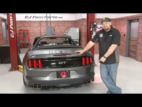 2015-2017 Mustang GT Roush Axle-Back Quad Tip Exhaust Installation