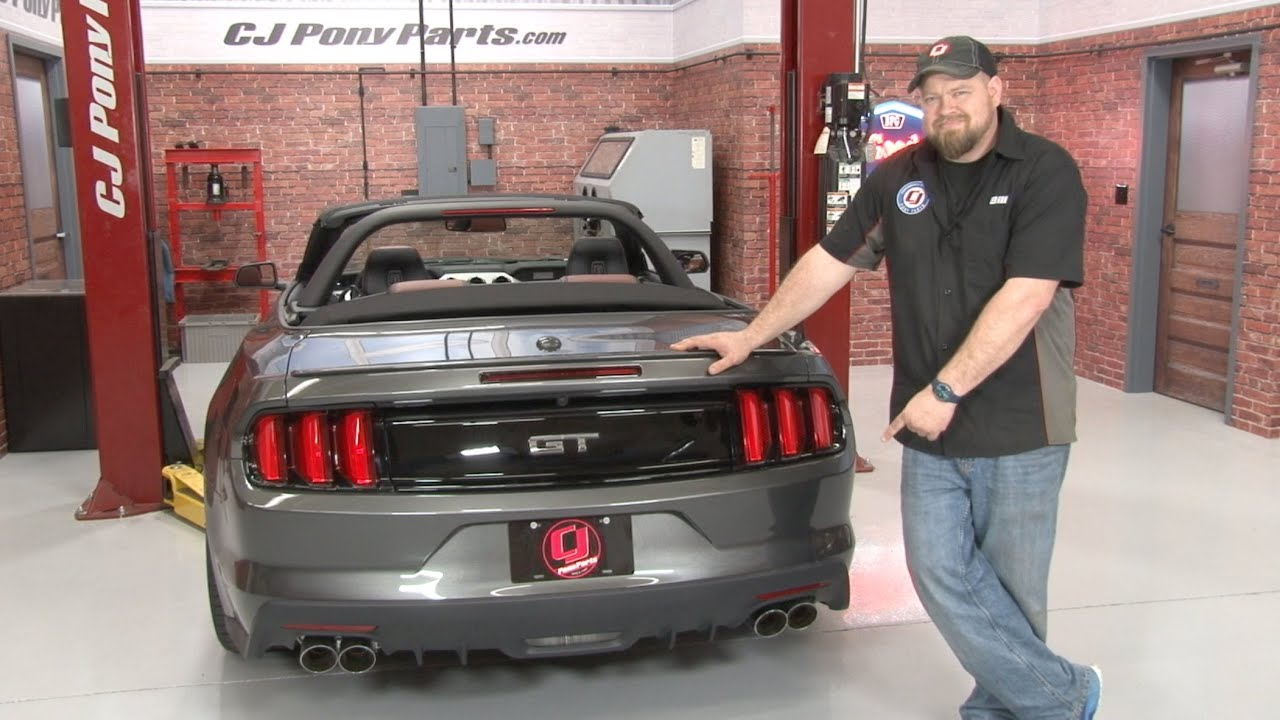 2015-2017 Mustang GT Roush Axle-Back Quad Tip Exhaust ...