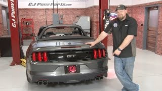 2015-2016 Mustang GT Roush Axle-Back Quad Tip Exhaust Installation