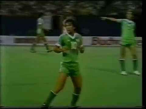 1982 - FIFA World Stars x Europe XI  (UNICEF Charity Match) - First Half