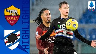 Roma 1-0 Sampdoria | Dzeko Second Half Strike Claims Victory For Roma! | Serie A TIM