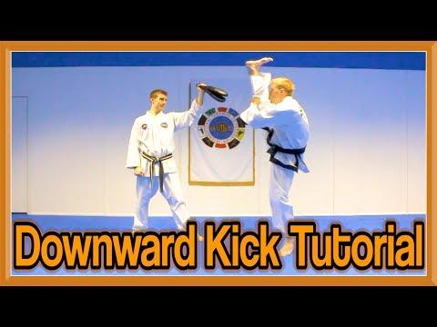 Taekwondo Axe/Downward Kick Tutorial | GNT How to