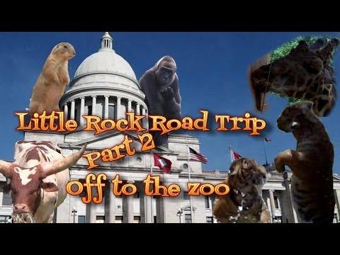 Little Rock Road Trip: Part 2 Arkansas State Capitol & LR Zoo