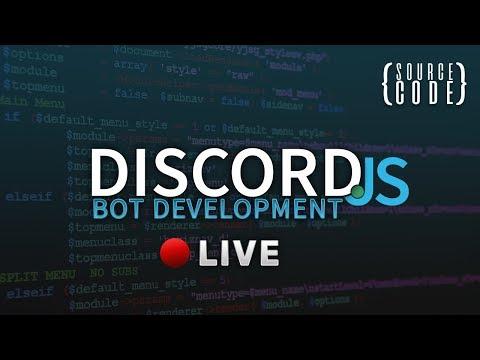 Discord.js RPG Bot Development - LiveStream
