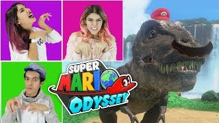 TRANSFORM MARIO INTO A TREX | SUPER MARIO ODISSEY GAMEPLAY