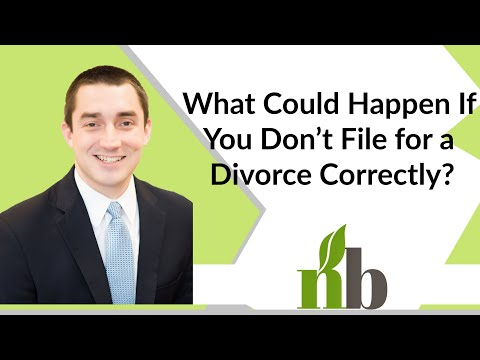 What Could Happen If You Don't File for a Divorce Correctly? | Alabama Divorce Attorneys